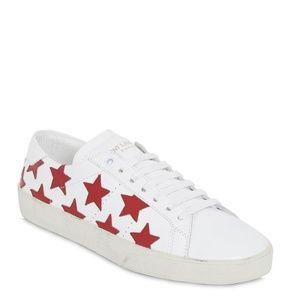 Yves Saint Laurent Court Classic Star Sneakers 39